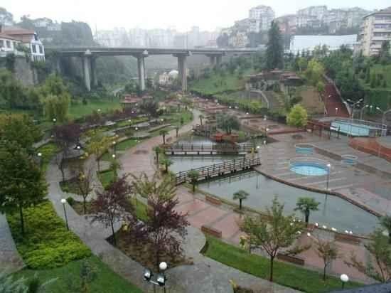 """تعرف على ..حديقة """"زفانوز"""" أجمل اماكن سياحيه للاطفال في طرابزون...."""