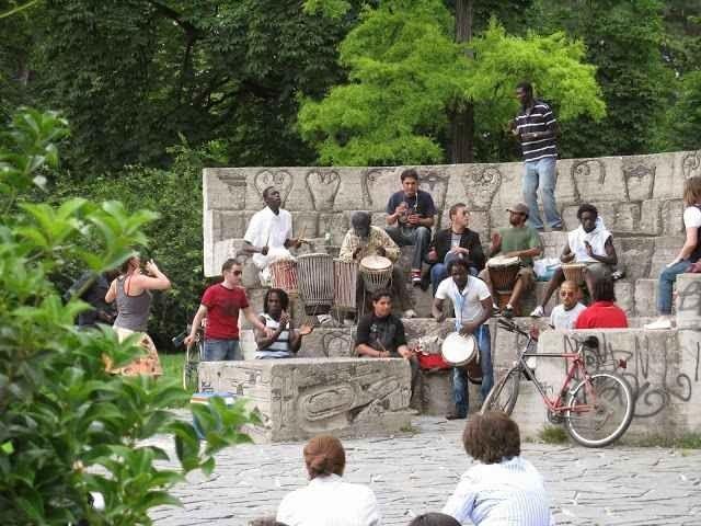 - حديقة سيمبيوني...