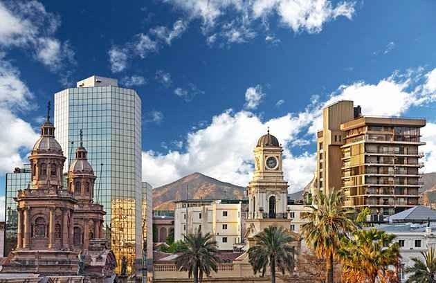 """- تعرف على ..سانتياغو Santiago"""" """"..العاصمة التشيلية.."""