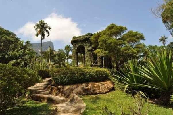 "- حديقة ""ريو دي جانيرو النباتية Rio de Janeiro Botanical Garden"" "".."