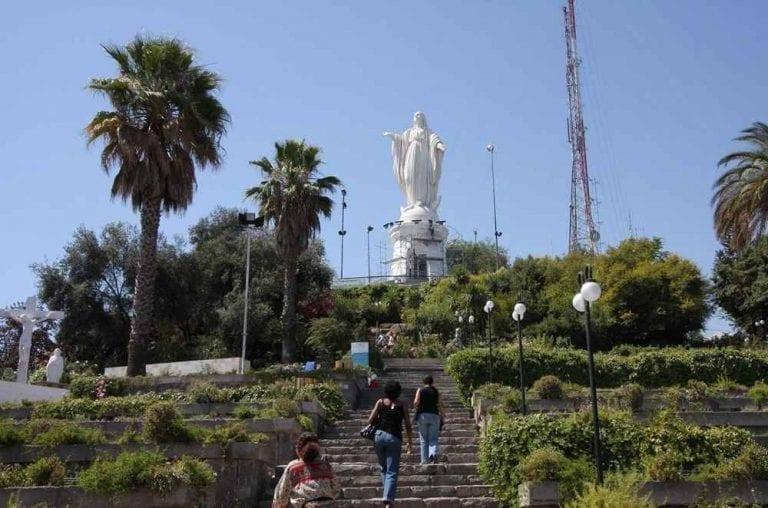 """- سان كريستوبال.. """" Cerro San Cristobal """""""