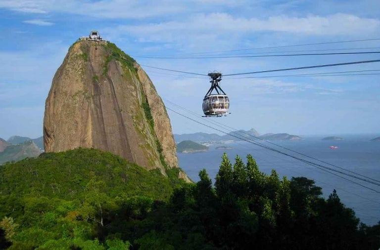"""- جبل سوجارلواف"""" Sugarloaf"""".. افضل اماكن السياحة في ريو دى جانيرو.."""