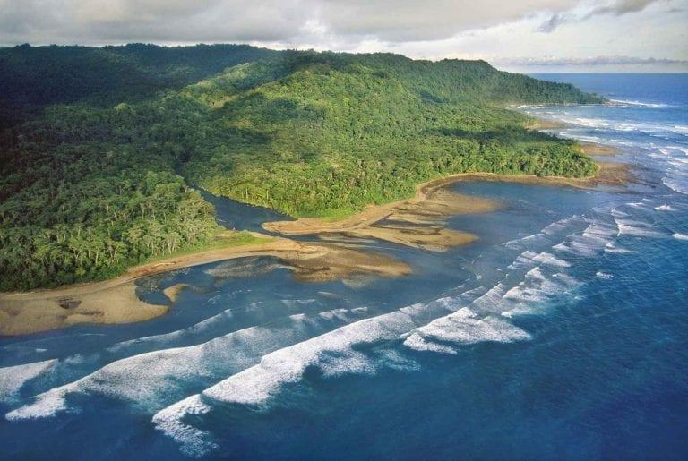 """الاماكن السياحية في كوستاريكا .."""" شبه جزيرة أوسا osa peninsula costa rica"""" .."""