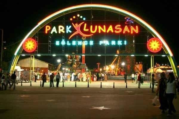 """لا يفوتك زيارة """"بارك لوناسان lunasan park izmit"""" """"عند السفر الى ازميت..."""