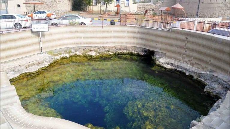 """"""" عين الكسفةAl Kasfah Hot Spring """" .. افضل اماكن السياحة في الرستاق .."""