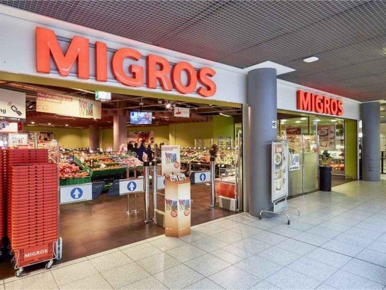 """"""" ميجروس Migros Montreux """" .. افضل اماكن السياحة في مونترو .."""