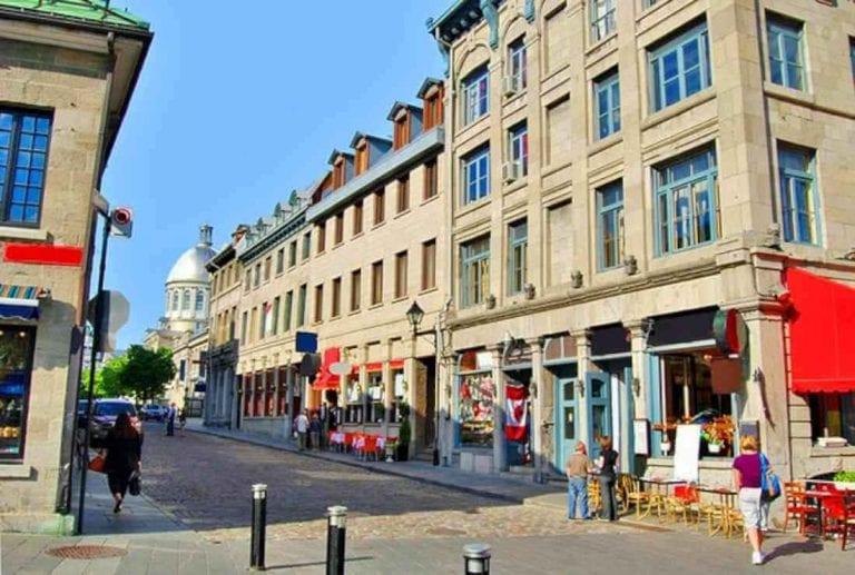 """- """"شارع شيربروك""""..واحدا من أهم معالم السياحة في مونتريال.."""