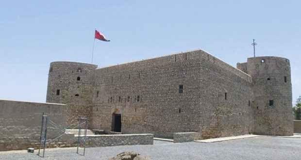""""""" حصن المصنعة Al-Musannah Fort"""" .. اهم معالم السياحة في المصنعه .."""