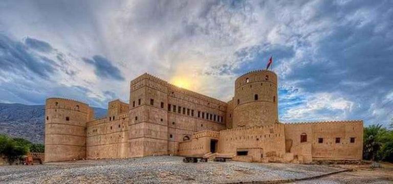 """"""" قلعة الرستاق Rustaq Castle """" .."""