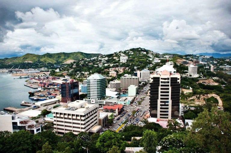 """الاماكن السياحية في بابوا غينيا الجديدة .."""" يورت مورسبى Port Moresby """" .."""