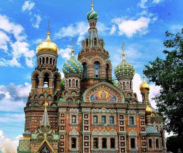 """"""" قلعة بطرس وبولس Peter and Paul """" ..اهم معالم السياحة في بطرسبرغ .."""