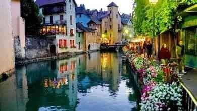 السياحة في مدينة أنسي الفرنسية