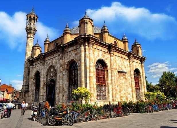 """"""" مسجد العزيزيةMosque of Aziziyah """".. اهم معالم السياحة في مدينة قونيا .."""