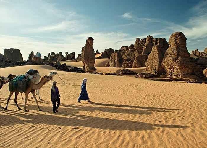 إليك...أجمل أماكن السياحة في مدينة جانت الجزائرية...