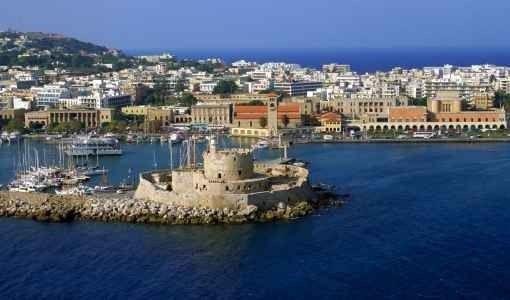 السياحة في جزيرة رودس اليونان
