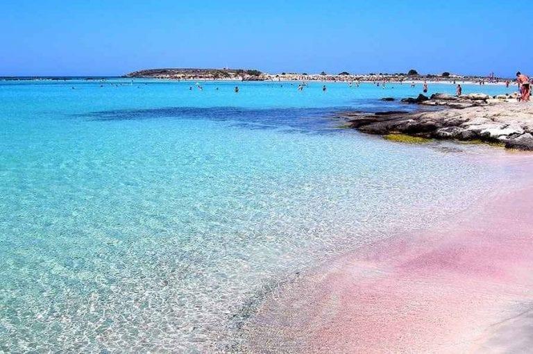 شاطئ balos lagoon