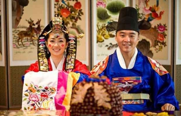 عادات الزواج فى كوريا...