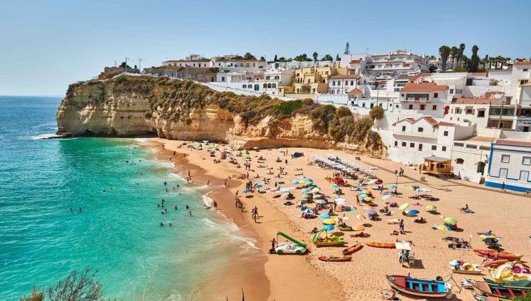 """"""" شواطئ ألبوفيراAlbufeira beaches """" .. اجمل اماكن السياحة في ألبوفيرا البرتغال .."""