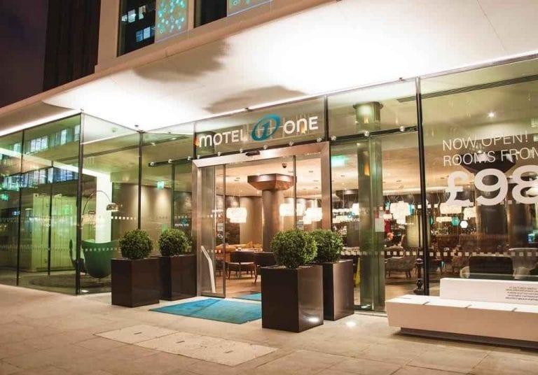 فندق موتيل وان لندن تاور- هيل