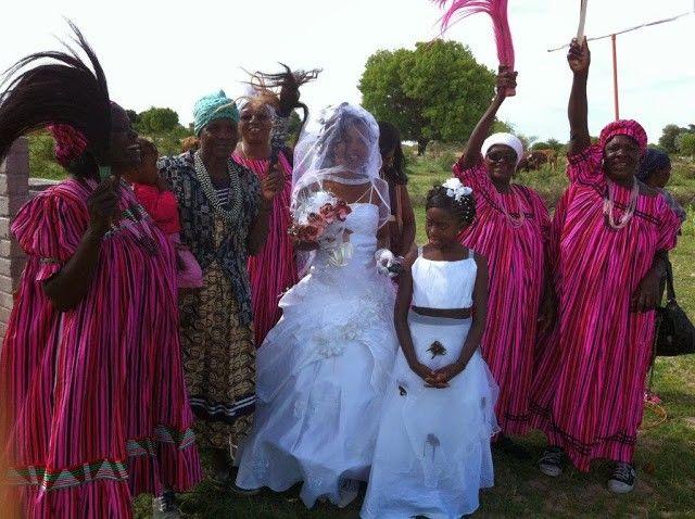 مراسم الزواج فى ناميبيا ..
