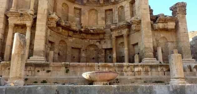 آثار جرش .. منتزهات عائلية في الأردن Jordan