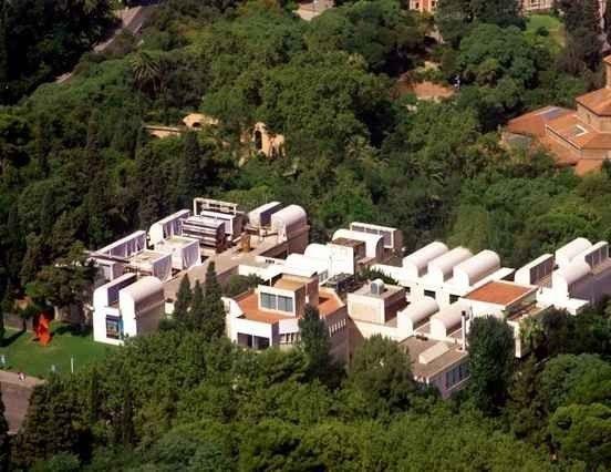 """متحف الفن الحديث خوان ميروMuseum of Modern Art Joan Miro "".."