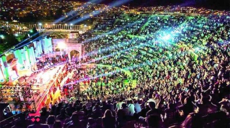 مهرجان جرش.. السياحة في جرش Jerash