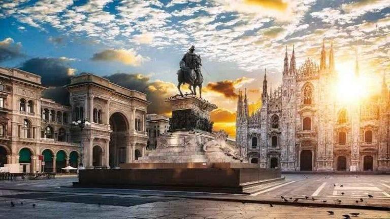 """- اليوم """" الخامس والسادس والسابع """" مدينة ميلان .."""