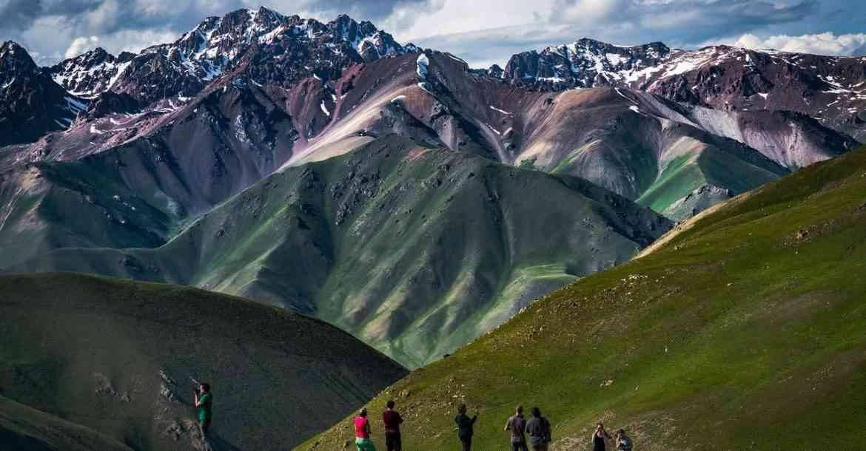 برنامج سياحي في قرغيزستان