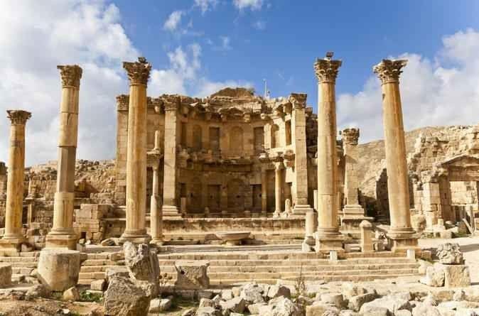 سبيل الحوريات.. السياحة في جرش Jerash