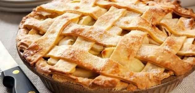 فطيرة التفاح.. الأكلات المشهورة في نيويورك New YOurk ..