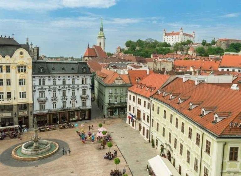 البلدة القديمة فى براتيسلافا