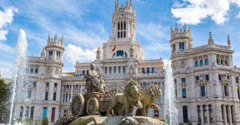 """اليوم الثالث """"بلازا دى سيبيليس - حديقة ريتيرو مدريد """" .."""