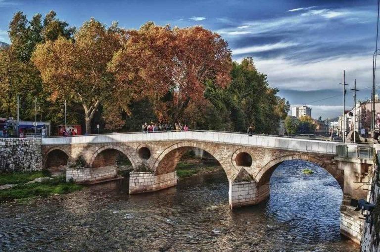 الجسر اللاتيني في سراييفو ...منتزهات في سراييفو Sarajevo