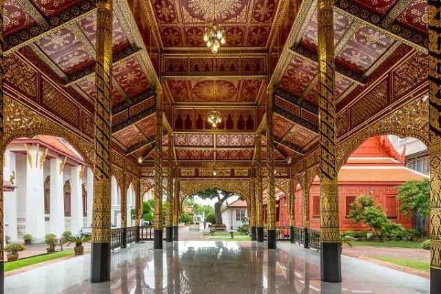 """"""" المتحف الوطنى فى بانكوك Bangkok National Museum """" .."""