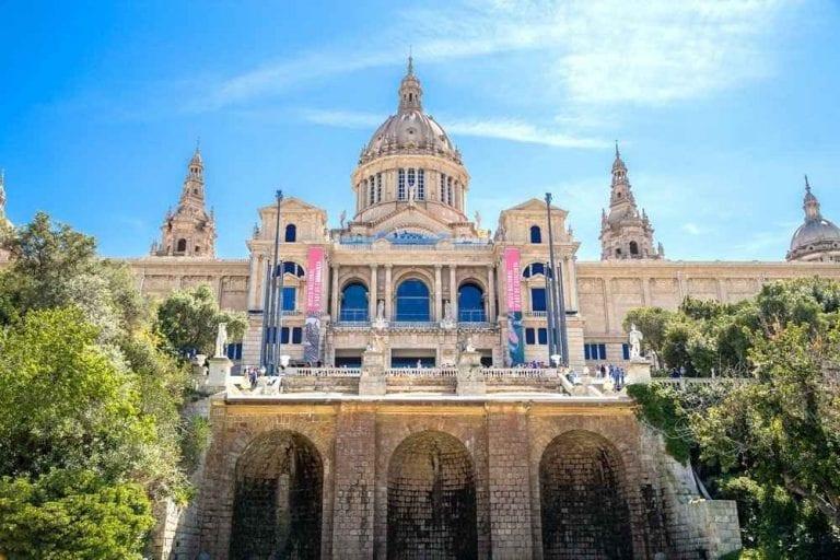 """"""" المتحف الوطنى للفنون الكاتالونيةMuseu Nacional d'Artde Catalunya """".."""