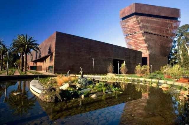 """متحف """"دى يونغ""""..واحدا من أفضل المتاحف فى سان فرانسيسكو.."""