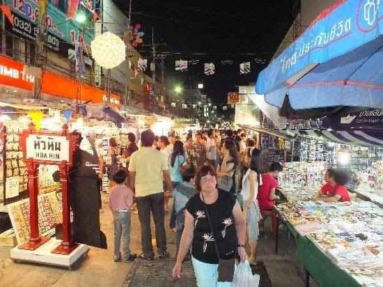 سوق هوا هين الليلي