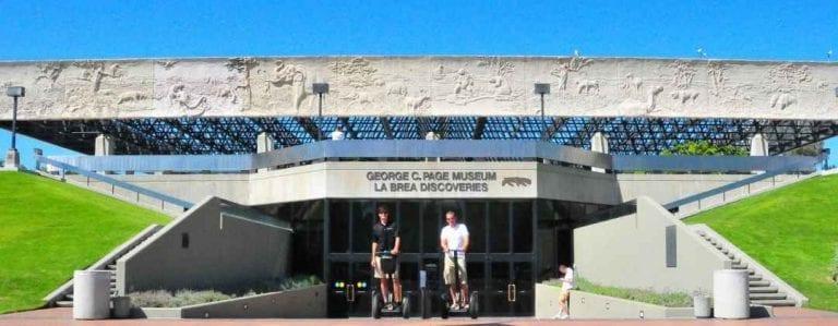 """""""متحف لا بري تار بيتس La Brea Tar Pits"""" .."""
