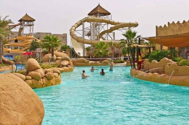 حديقة الألعاب المائية- منتزهات عائلية في البحرين Bahrain