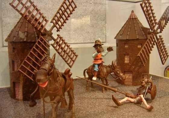 """ متحف الشوكولاتة Chocolate Museum in Barcelona "".."