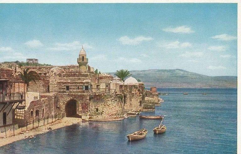 جامع الجسر في مدينة طبريا