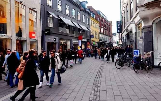 تعرف على أشهر شوارع التسوق فى الدنمارك