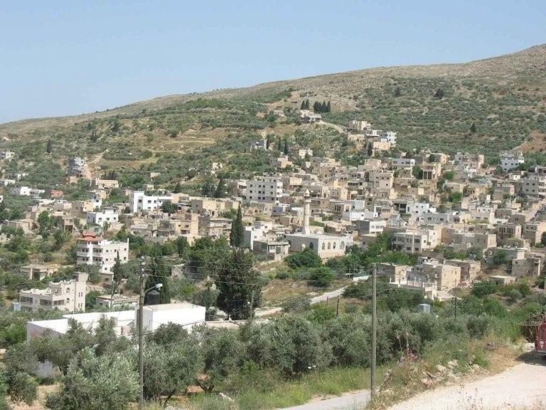 قرية شوفة في طولكرم