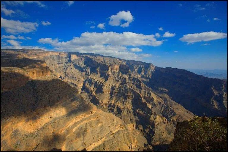 """""""قرية الغول القديمة"""" ..واحدة من أبرز معالم السياحة في سلطنة عمان.."""