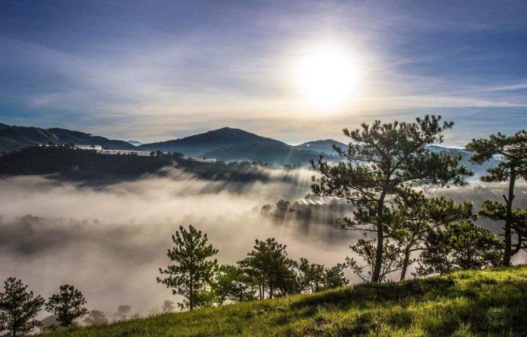""" جبال دالاتDalat Mountains "" .."
