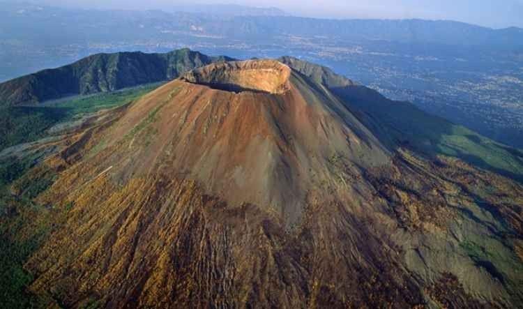 جبل فيزوفMount Vesuvius
