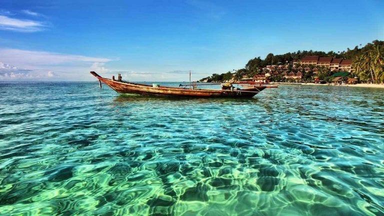 السياحة في جزيرة كوه فانجان تايلند