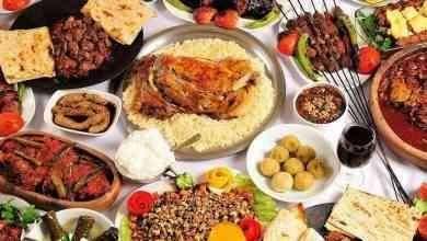 الأكلات المشهورة في تركيا