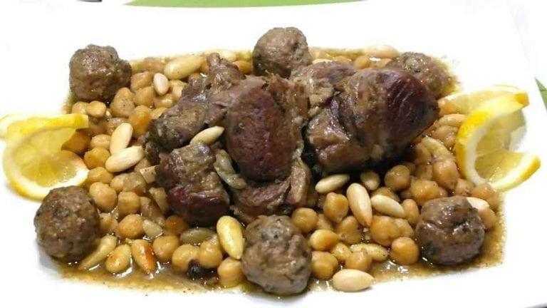 المثوم - الأكلات المشهورة في الجزائر Algeria